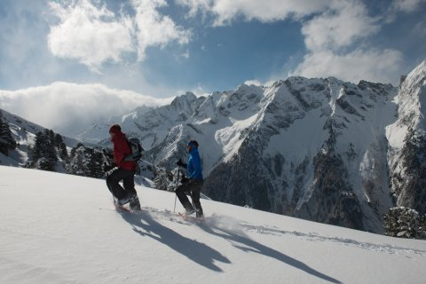 Winterwandern in Mayrhofen